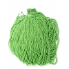 Seedbead Opaque Light Green 10/0 Strung